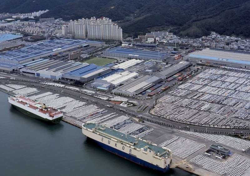 5. Завод «Hyundai Motor» в Ульсане (Южная Корея) Haval, bmw, general motors, автозавод, автомобиль, китай