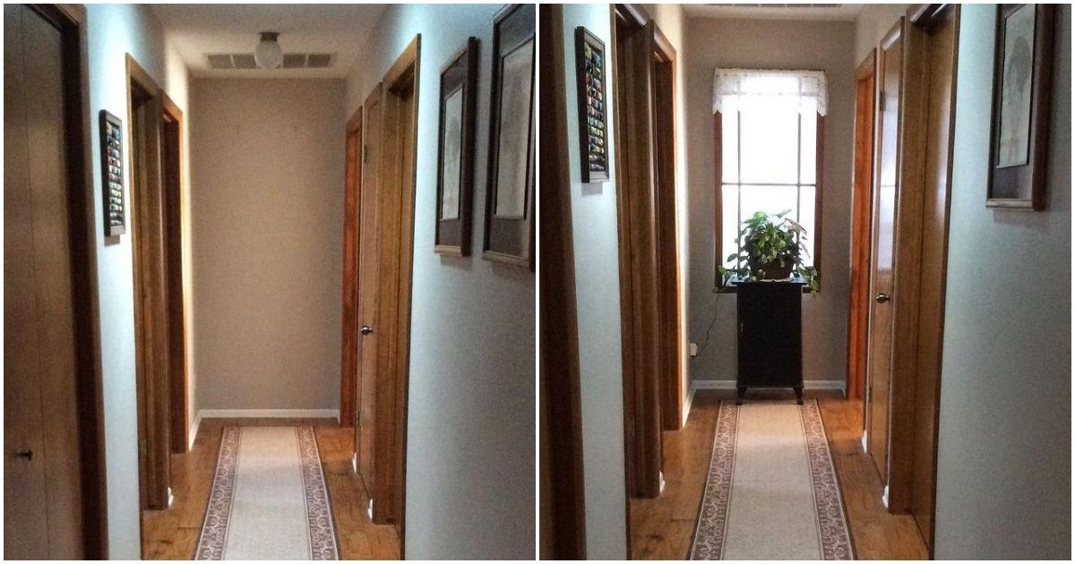 У меня в квартире был темный коридор, пока я не увидела эту идею! Потрясающе