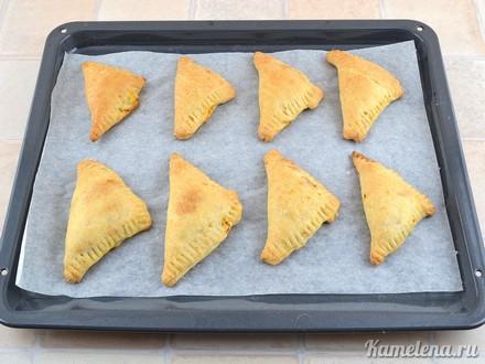 Пирожки с капустой — 10 шаг
