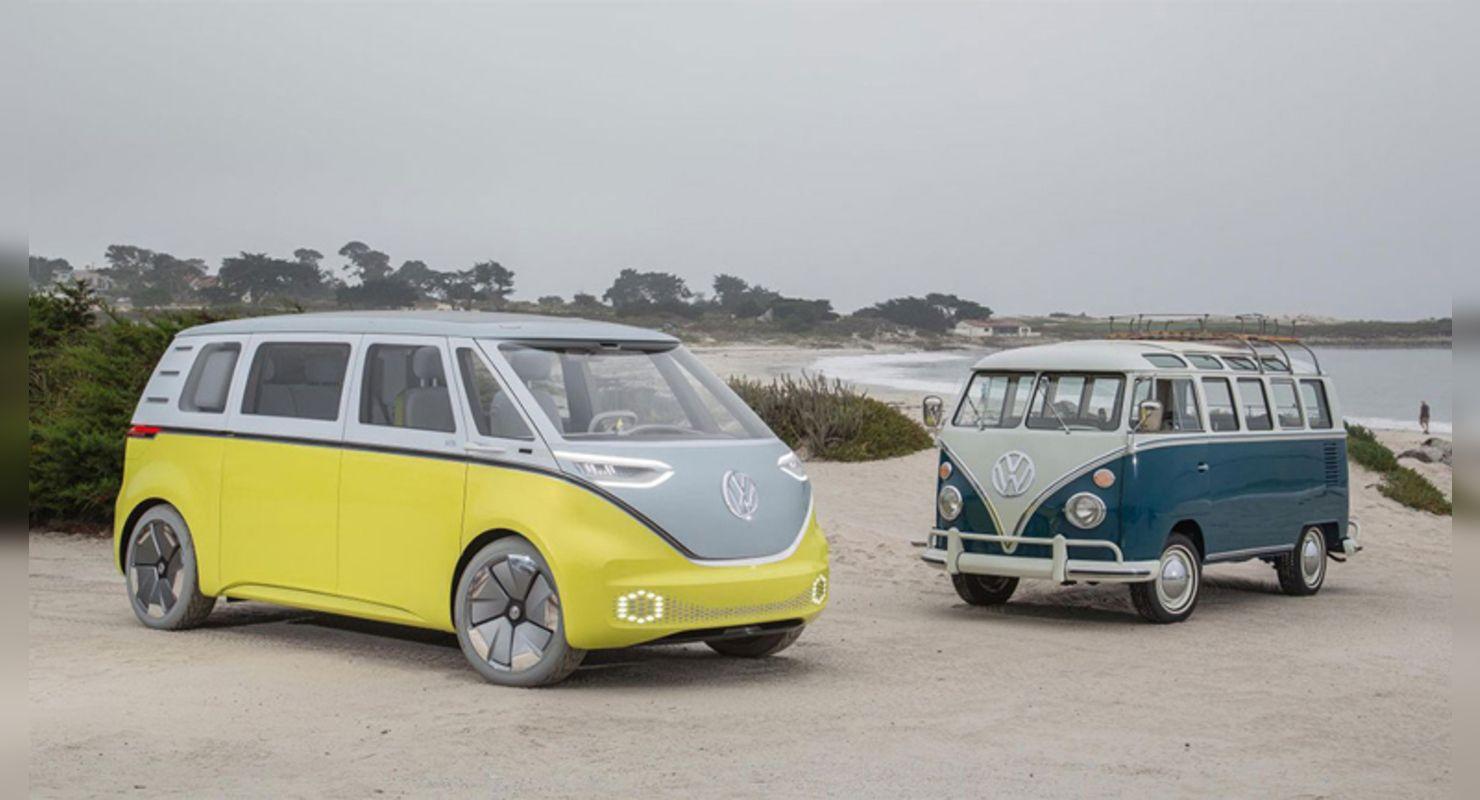 Выпуск электрокара Volkswagen ID.Buzz Microbus отложен до 2023 года Автоновинки