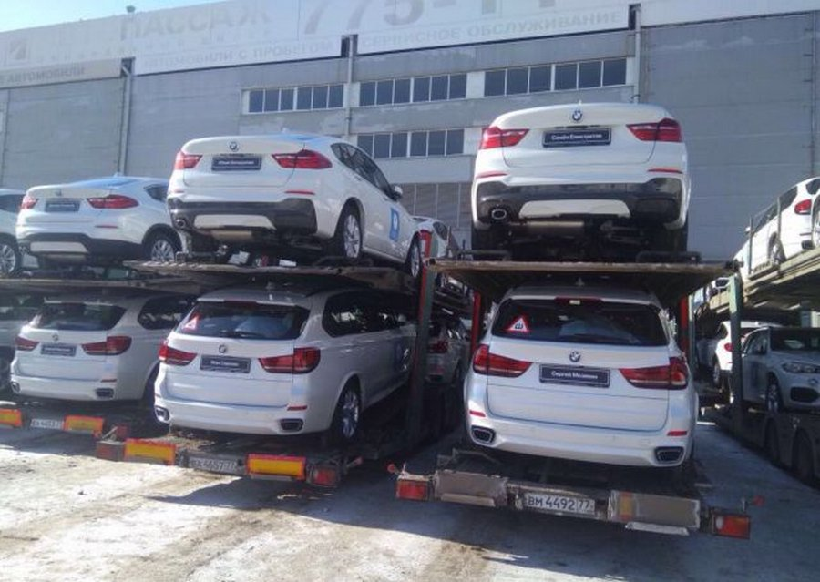 140 BMW для российских медал…