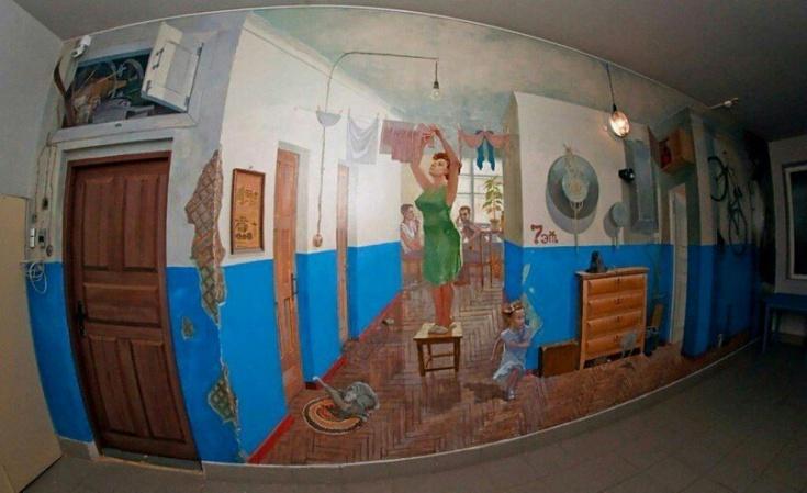 Подъездный арт родом из СССР