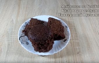 Маленький поваренок/Кекс в микроволновке за 5 минут