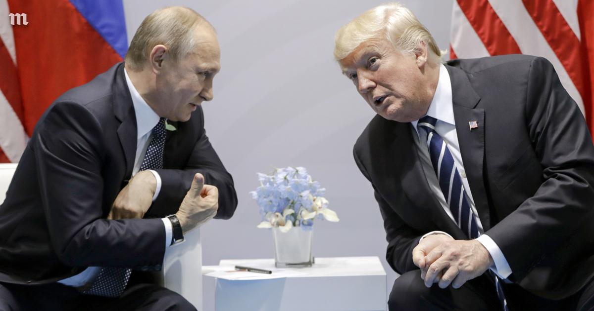 Русофил Трамп поздравил Пути…
