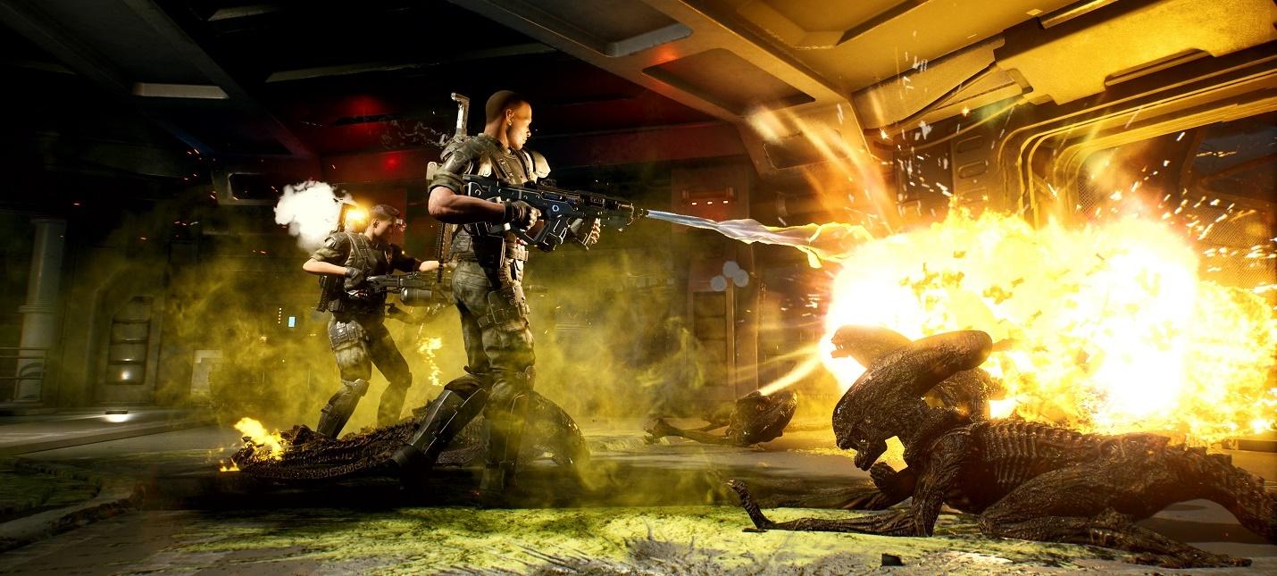 25 минут геймплея кооперативного шутера Aliens: Fireteam action,adventures,arcade,horror,pc,ps,xbox,Аркады,Игры,Приключения,Хоррор,Шутеры