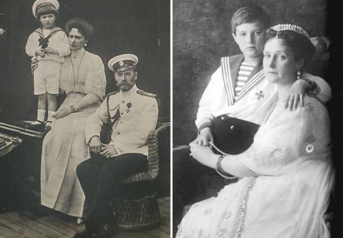Николай II с супругой и сыном | Фото: rg.ru, pravda.ru