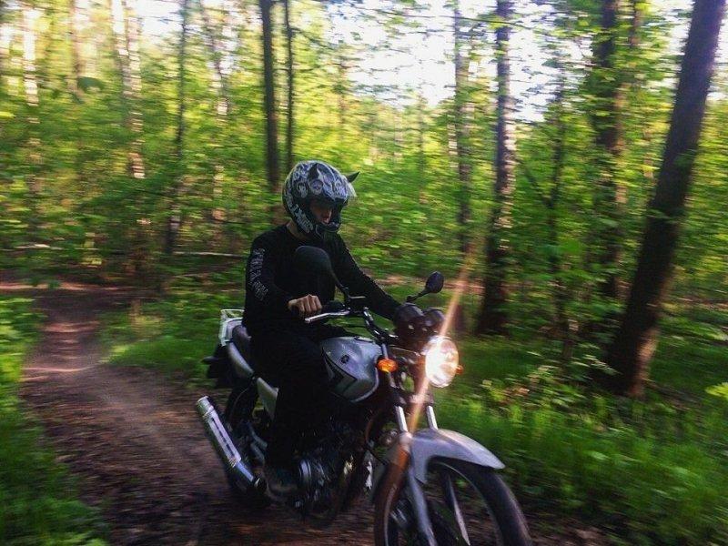 Фото из ВК главного героя. авто, автохам, быдло, видео, конфликт на дороге, междурядчик, мотоциклист, хруст