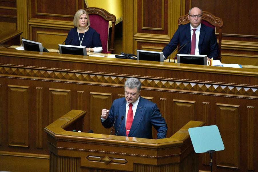 Что не так с формулой идентичности современной Украины по Порошенко?