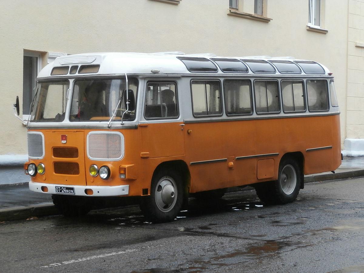 Автобусы - гордость СССР и России