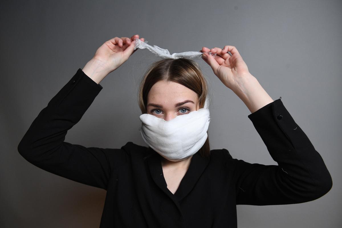 Как сшить медицинскую маску самому