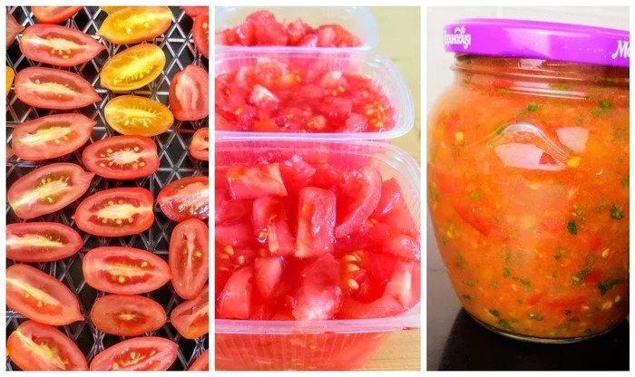 Самый легкий и вкусный способ заморозки помидор