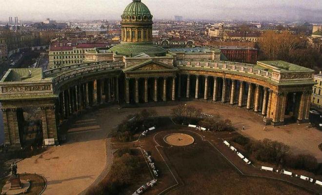 Прошлое Казанского собора