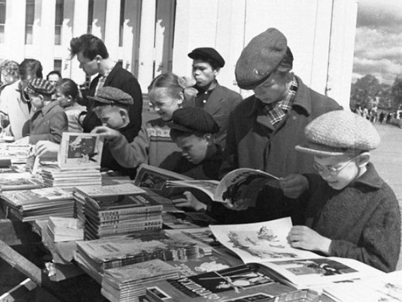Увлечения советских граждан