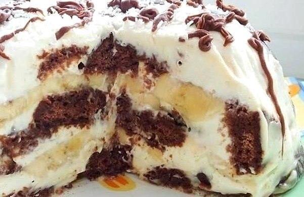 Это просто неописуемо вкусный тортик