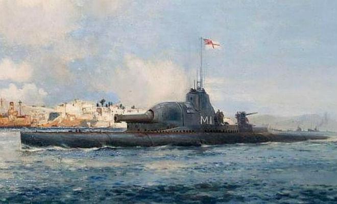 Подводная крепость Второй мировой: лодка с пушкой и броней