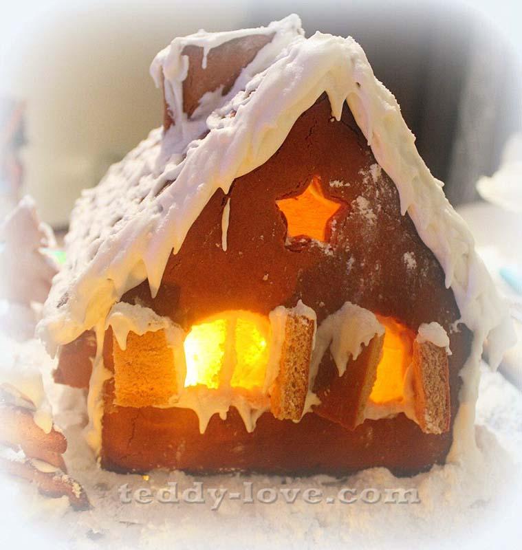 До чего же они красивые, эти пряничные домики! выпечка