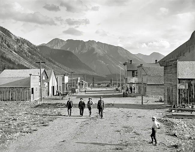 Город-призрак Юрика в Колорадо, США, 1900 год интересно, исторические кадры, исторические фото, история, ретро фото, старые фото, фото