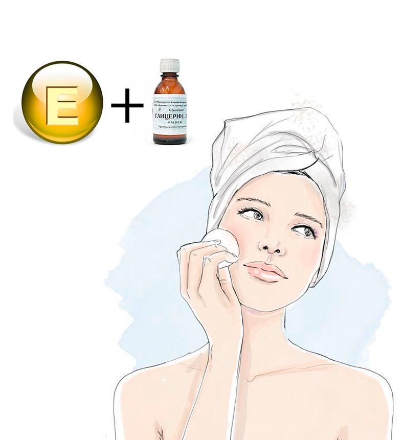 Глицерин + Витамин Е: Волшебное средство для кожи!