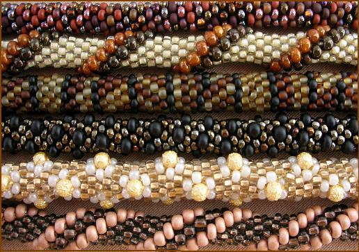 Вязанные крючком жгуты - пластичны и удивительно прочны, набор необходимых материалов минимален, вариантов украшений множество!