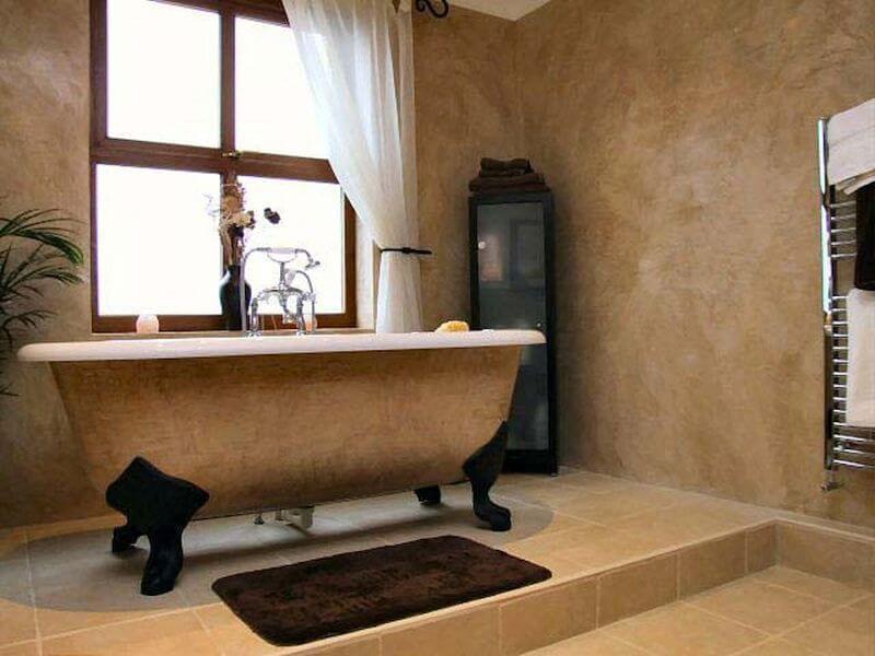 декоративка в ванной