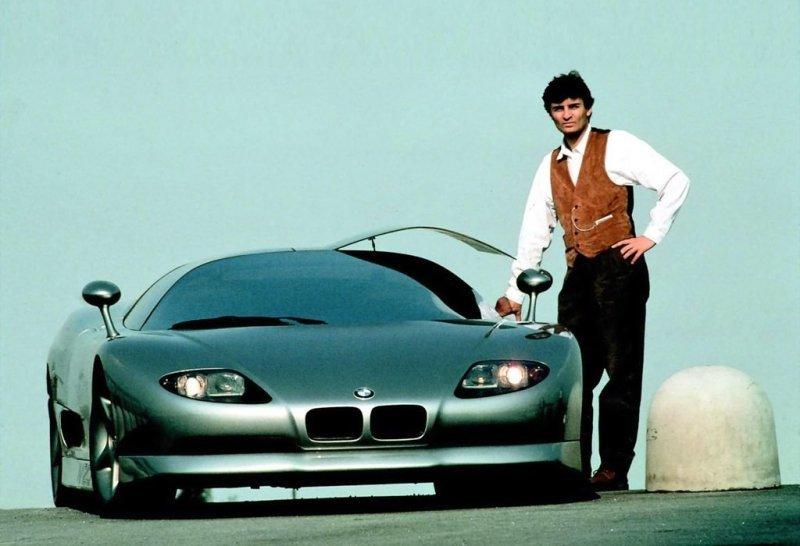 Гипркар BMW Nazca - неизданный шедевр на колесах