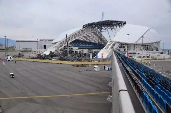 На что сейчас похожи олимпийские объекты в Сочи?