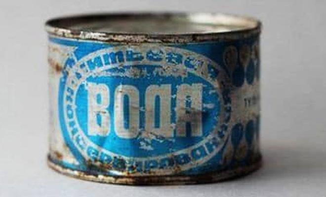 Консервированная вода из СССР: подобные консервы не выпускала больше ни одна страна