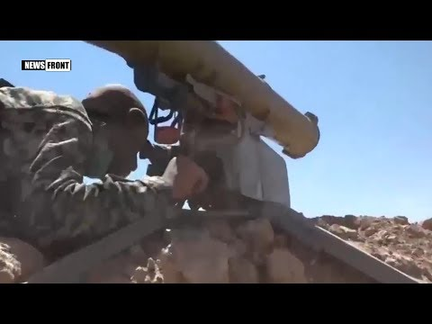 Сирийская армия уничтожает боевиков на востоке Пальмиры