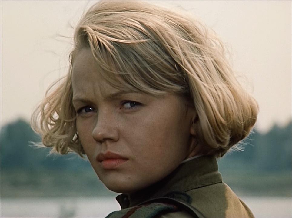 Забытая красавица советского кино Елена Попова.