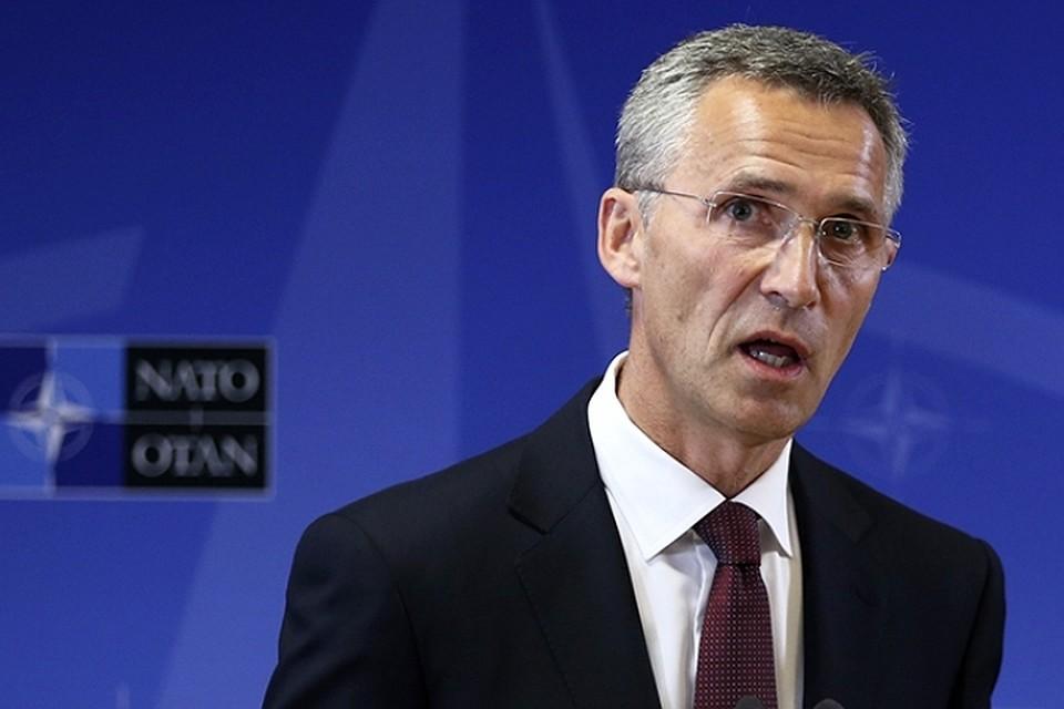 Генсек НАТО объяснил присоединение Крыма к России конкуренцией «великих держав»