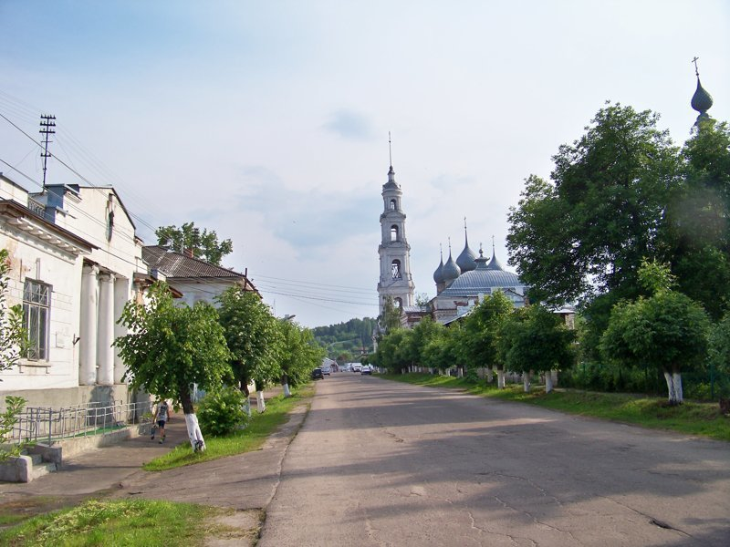 Людей на улице очень мало Города России, ивановская область, красивые города, пейзажи, путешествия, россия