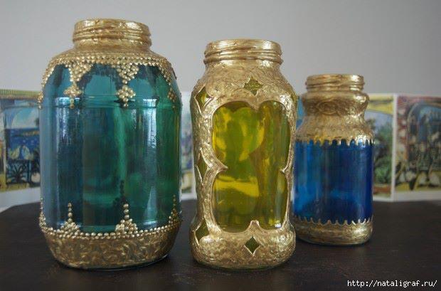 Марокканский фонарь своими руками