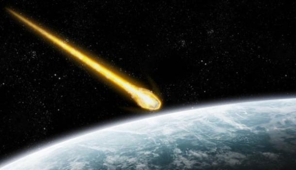 В США упал метеорит (ВИДЕО)