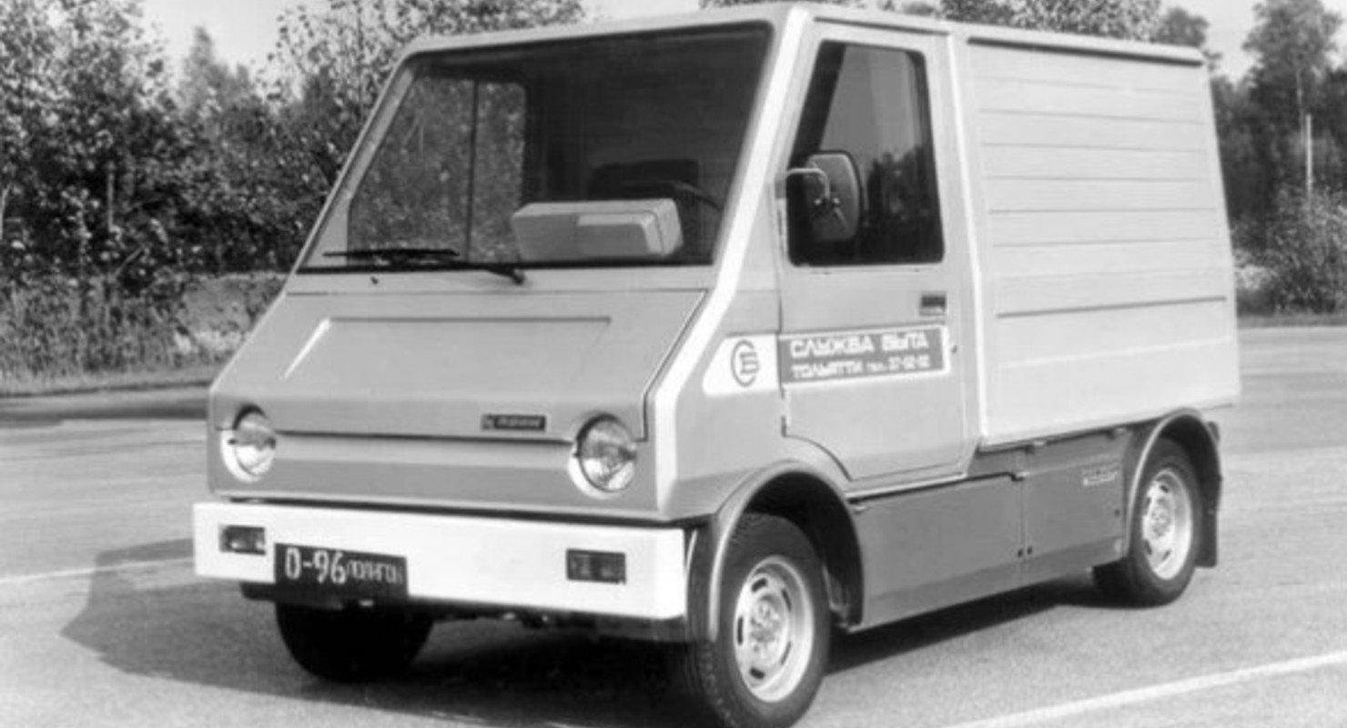 ВАЗ-2702 «Пони»: экспериментальный фургон с электрическим приводом Автограмота