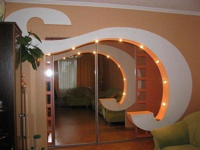 Двадцать красивых арок из гипсокартона для дома, интересные идеи и их реализация