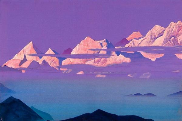 Величие недосягаемого — горы в творчестве Николая Рериха