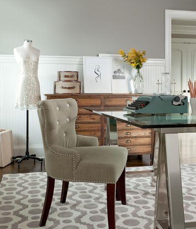 Современная классика Кабинет by The Elegant Abode Interior Design
