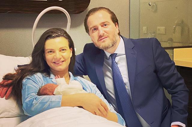 Князь Грузии Хуан Багратиони-Мухранский и его жена Кристина впервые стали родителями