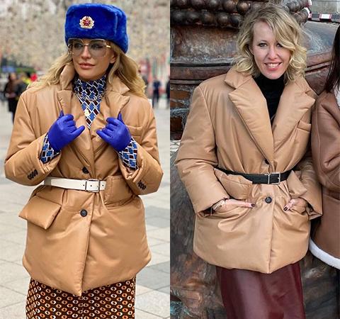 Модная битва: Виктория Шелягова против Ксении Собчак Битва платьев