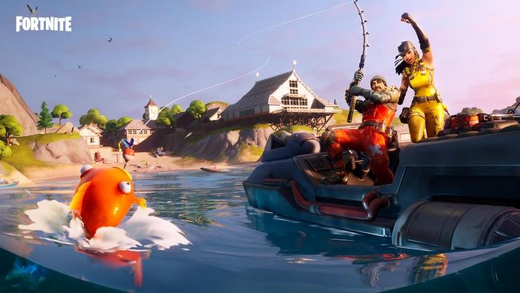 Epic Games проведёт конкурс рыбаков в Fortnite epic games,fortnite,Игровые события,Игры