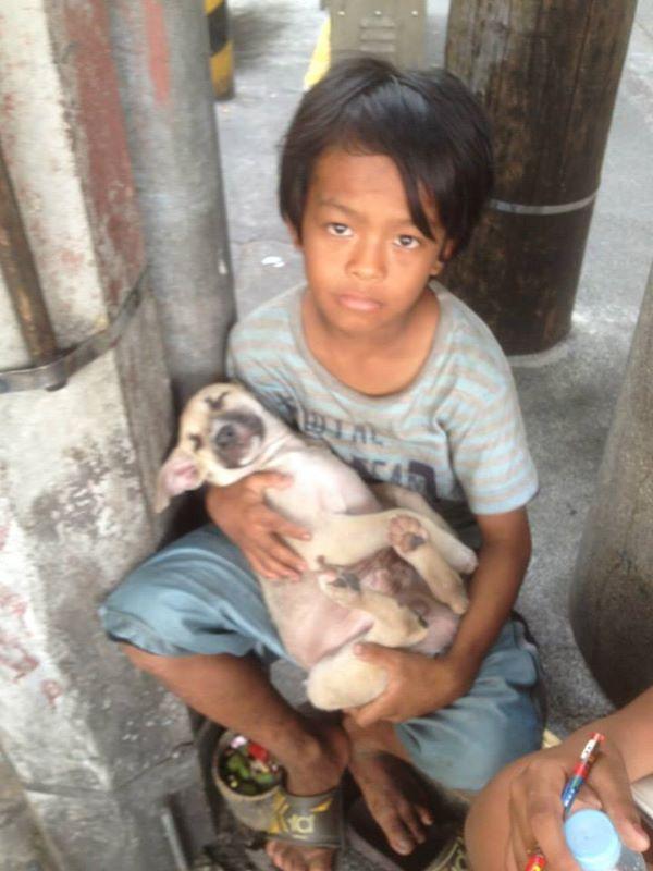 Брошенный родителями мальчик поёт бездомной собачке колыбельную – и мир замирает