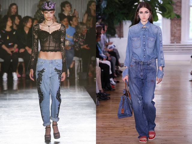 Модные джинсы бойфренды теплого сезона 2018