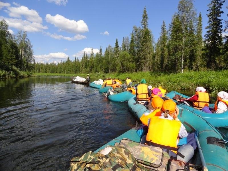 Крупнейший национальный парк России - Югыд ва (Коми)