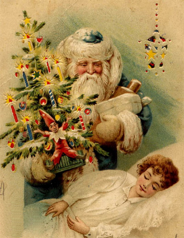 Скажи, открытки на новый год прошлого века