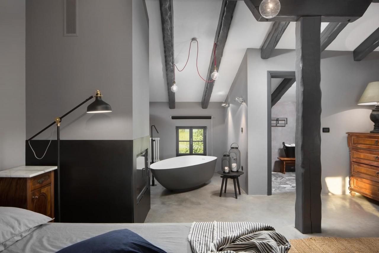 Интерьер виллы с гостевым домом в Хорватии интерьер