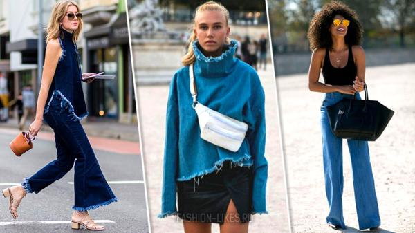 4 способа носить джинсу так, словно вы только вышли с модного показа