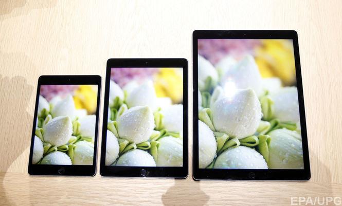 Вскоре будут представлены новые планшеты Apple