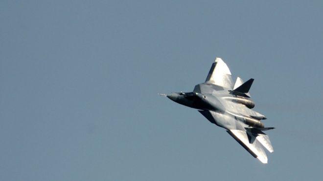 Российский истребитель пятог…