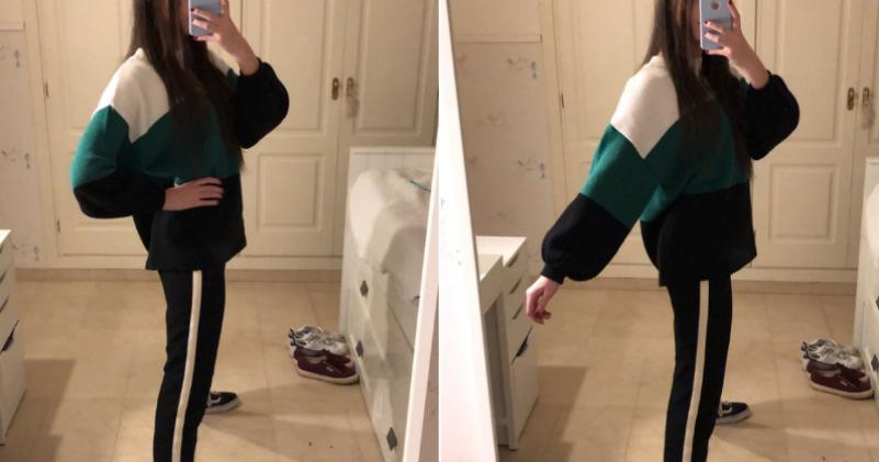 «Боже милостивый, какие худые ноги!»: испанская модница случайно создала оптическую иллюзию