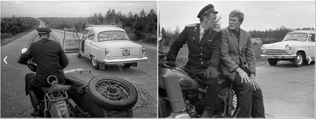 Автомобильные ляпы с советском кино